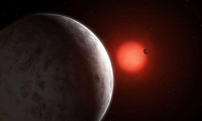 Виявлено дві суперземлі на орбіті близького до нас червоного карлика - фото