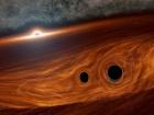 Зіткнення чорних дір може вибухати зі світлом