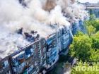 Цілу житлову п'ятиповерхівку в Новій Каховці ледве не спалив п'яний чоловік