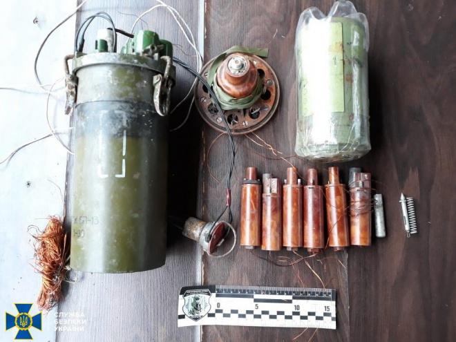 На Луганщині виявили російський мінно-вибуховий пристрій, заборонений конвенцією - фото
