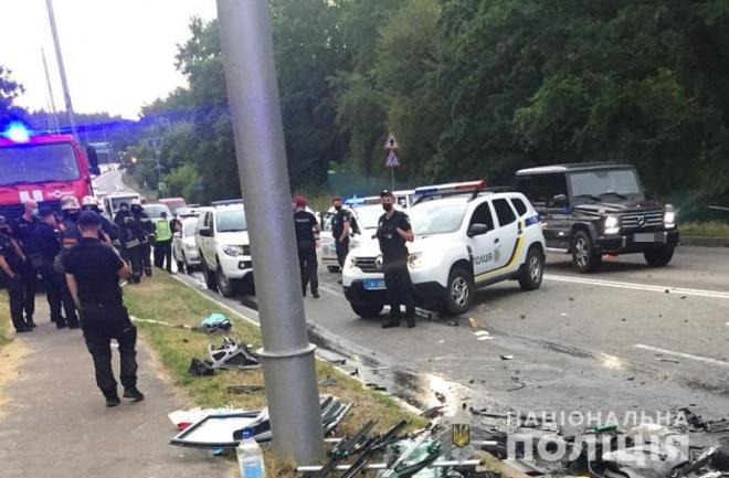 Поліція затримала п'яного водія, який вчинив смертельну ДТП на Старообухівській трасі - фото
