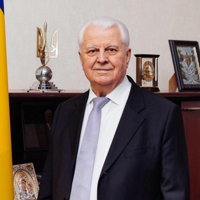 Українську делегацію в ТКГ очолив Леонід Кравчук - фото