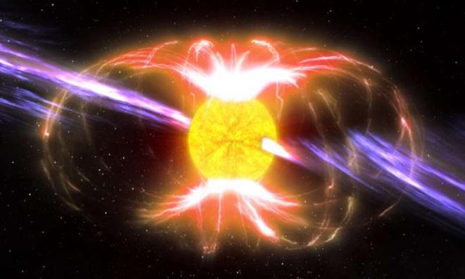 В нашій галактиці виявлено надзвичайно рідкісну, таємничу нейтронну зірку - фото