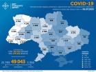 Впродовж неділі 543 випадки COVID-19 в Україні