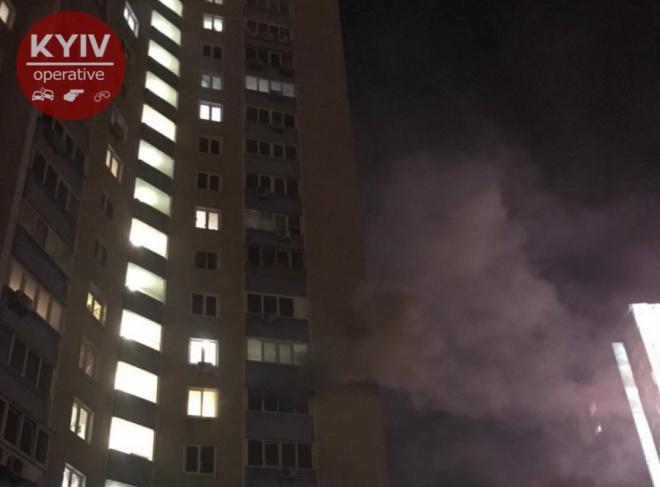 В Києві в пожежі загинула дитина, можливо це умисно зробив батько - фото