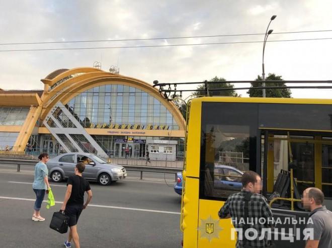 стрілянина у тролейбусі, Караваєві дачі, фото 1