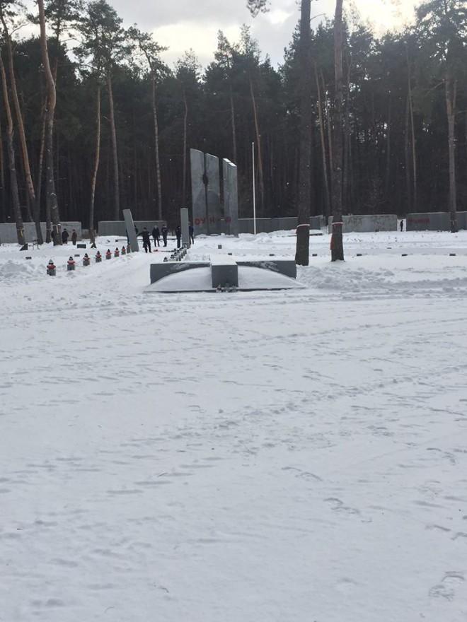 сплюндрування, акт вандалізму меморіалу жертвам НКВС у Биківні на фото 3