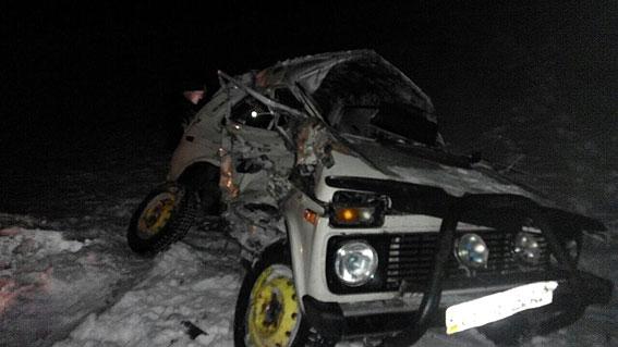 авария на переезде под Нежином на фото 2