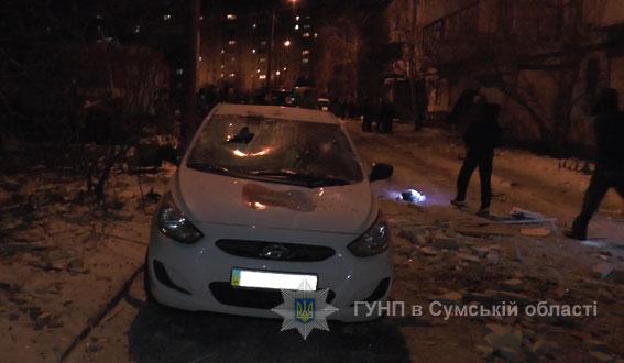 взрыв в многоэтажке в Сумах по ул. Металлургов, фото 2