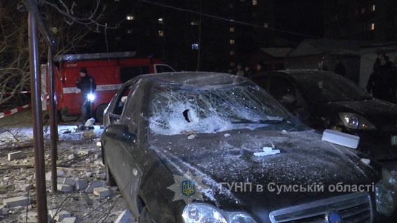 взрыв в многоэтажке в Сумах по ул. Металлургов, фото 3
