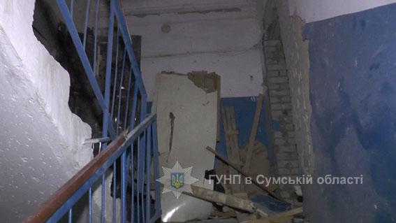 взрыв в многоэтажке в Сумах по ул. Металлургов, фото 5
