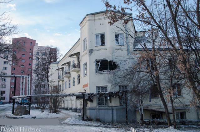 обстріл Донецька зі сторони Макіївки на фото 1