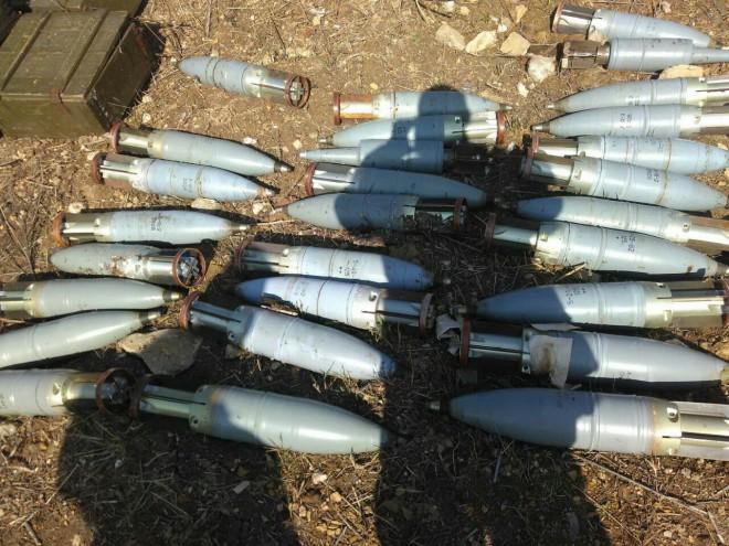 російські боєприпаси, виявлені в Зайцевому на Донеччині на фото 3