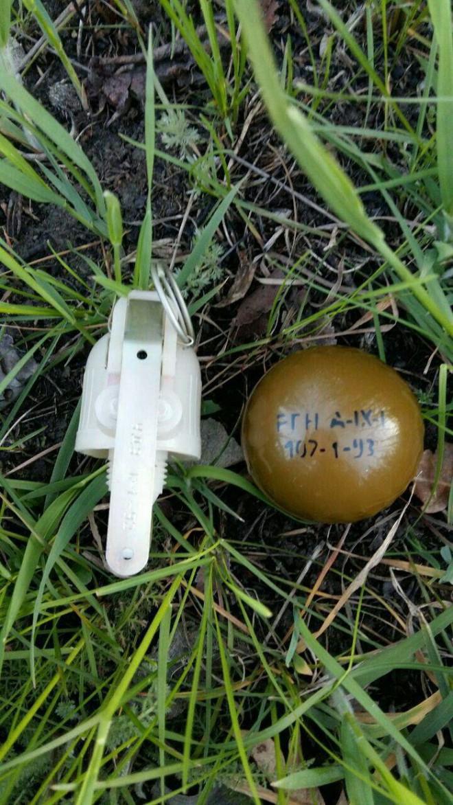 выявлены гранаты, произведенные в РФ