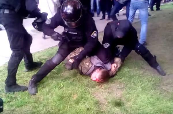 бійка на 9 травня у Дніпрі на фото
