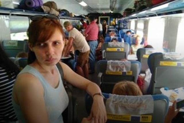 обурені пасажири Інтерсіті рейсу Одеса-Київ