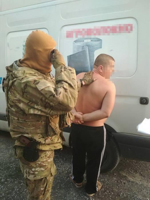 Затримання інформатора терористів