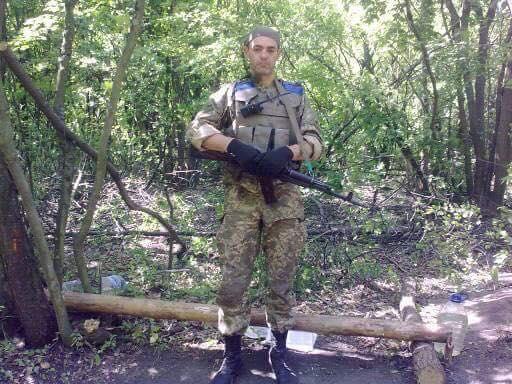загинув доброволець Олег Динька, фото