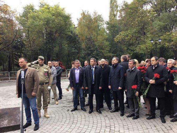 відкриття пам′ятника терористам у Ростові, на фото 1
