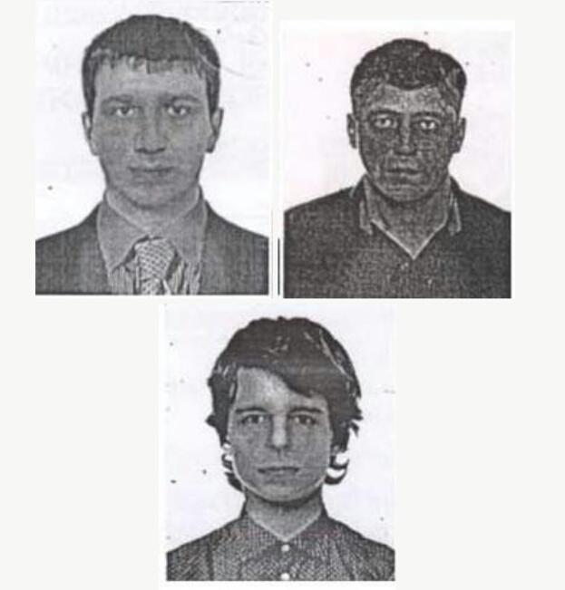 розшукувані злочинці, які пограбували банк, на фото