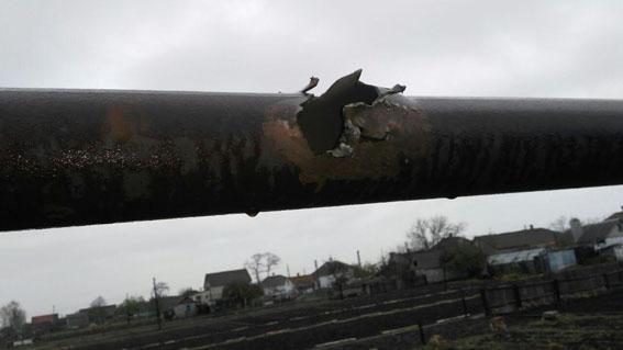 Обстрелян мирный поселок вМариуполе