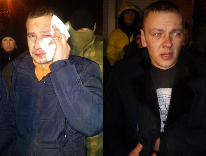 Появились фото ивидео массовой ночной потасовки вКиеве