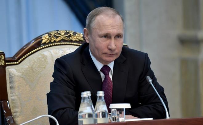 Путін Володимир Володимирович - фото