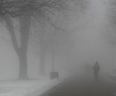 25 декабря в Украине повышение температуры, гололед и туман - фото