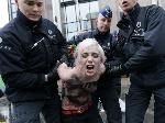 FEMEN в Брюсселе устроили «апокалипсис» Путину
