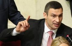 Кличко не хочет в парламенте махать кулаками - фото