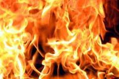 В Одессе горел отель «Черное море» - фото