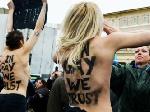 Активистки FEMEN обнажились перед Папой римским