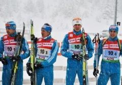 Мужская сборная по биатлону заняла 4-е место - фото