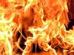 В Кривом Роге горел микроавтобус с 25-ю пассажирами
