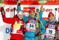 Елена Пидгрушная стала чемпионкой мира по биатлону - фото