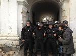 В Гостином дворе «Беркут» напал на народных депутатов