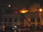 В Киеве горел Гостиный двор