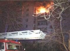 Во Львове во время пожара в многоэтажке погибли 2 человека - фото