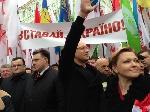 Тысячи людей собрались на марш «Вставай, Украина!» в Черновцах