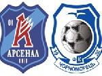 Кубок Украины: «Черноморец» победил киевский «Арсенал»