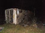 Ночью в Винницкой области перевернулся автобус с пассажирами