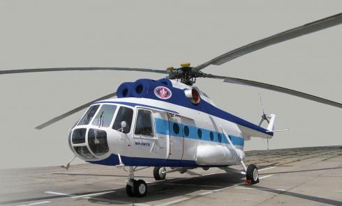 Проходят испытания модернизированного украинского вертолета - фото