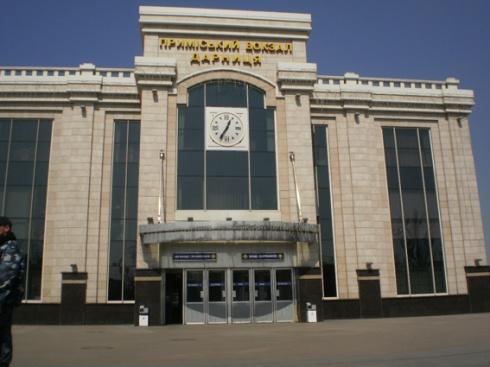 Узник колонии «заминировал» столичный вокзал - фото