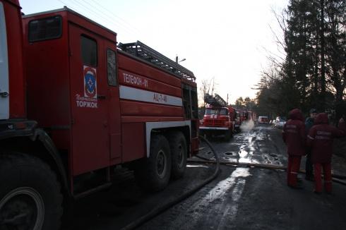 В Подмосковье горела психбольница, погибли люди - фото