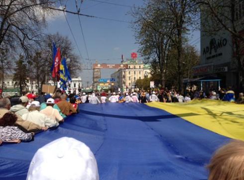 «Вставай, Украина» прошла в Сумах - фото