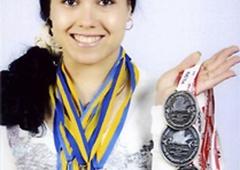 Юлия Паратова - чемпионка Европы по тяжелой атлетике - фото