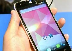 ZTE показала смартфон с процессором Intel частотой 2 ГГц - фото