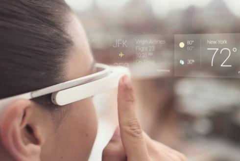 Гугл показал как пользоваться их очками - фото