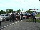 В Киеве на Бориспольском шоссе застрелили бизнесмена [фото]