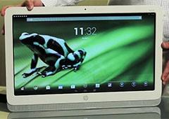 HP показали устройство на Android с 21,5-дюймовым экраном - фото